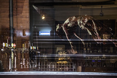 Ghostly apparition (tootdood) Tags: street reflection art kitchen glass manchester soup ghostly apparition spear canon70d
