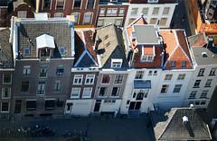 Utrecht, uitzicht vanaf de Domtoren, Nederland 2016 (wally nelemans) Tags: holland utrecht domtoren cathedral nederland thenetherlands kathedraal 2016