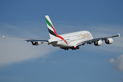 Emirates Airbus A380-861 A6-EOI (Kambui) Tags: travel plane airplane dubai aircraft united airplanes uae emirates airline planes airbus a380 zrich emirate airliner aviones dxb avions zrh flugzeuge planespotting  avies vereinigtearabischeemirate aeroplani kambui  a6eoi