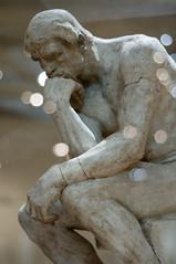 El pensador / Dante (roshua_quest) Tags: plaza sculpture art mxico arte escultura museo mx rodin auguste carso ciudaddemxico soumaya