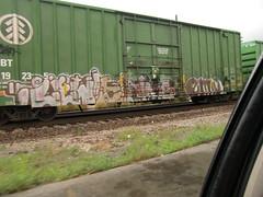 09-01-10 (3) (This Guy...) Tags: road railroad car train graffiti box graf rail rr traincar boxcar graff 2010