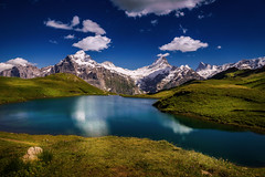 Bachalpsee (arnewuensche66) Tags: lake alps landscape schweiz switzerland see swiss berge bachalpsee