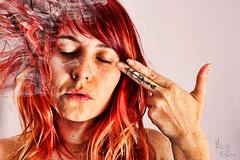 Shoot 'Em Up (MaripazMolina) Tags: red portrait woman mujer rojo retrato redhair pelirroja mlaga pelirrojo maripazmolina