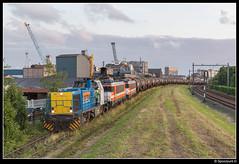 LC 1505 + 9901 + 9905 - Vopak Vlaardingen (Spoorpunt.nl) Tags: 5 1600 juli 9900 vlaardingen vopak zans 9905 bediening 9901 2016 1505 vtg locon ketelwagens g1206 vulcaanweg