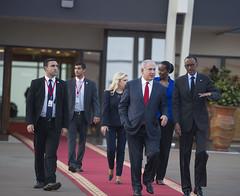 Official visit of Prime Minister of Israel Benjamin Netanyahu and Mrs Sara Netanyahu | Kigali, 6 July 2016 (Jeannette Kagame) Tags: rwanda israel benjamin netanyahu sara president paul kagame jeannette imbuto foundation official visit kigali genocide memorial kwibuka22