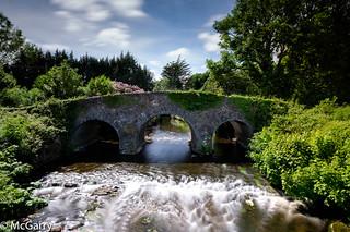 Country road bridge