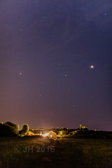 07.06.2016 | Mars and Saturn, Little Thorness Farm (Jamie A. Hunter) Tags: canonef24105mmf4lisusm canoneos5ds canonphotography canoninc isleofwight iow ryde havenstreet freshwaterbay freshwater thornessbay alumbay isleofwightsteamrailway w24calbourne class483 solent astrophotography mars saturn milkyway galacticcentre