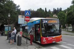 Bergamo Alta Citta to the stations (cohodas208c) Tags: bus transportation transit bergamo lombardy