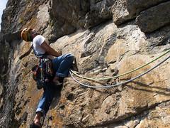 P7031927 (diegobracco) Tags: gianluca arrampicata bourcet multipitch urlodimunch