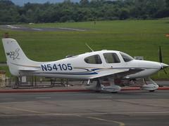 N54105 Cirrus SR22 (Aircaft @ Gloucestershire Airport By James) Tags: james airport gloucestershire lloyds cirrus sr22 egbj n54105