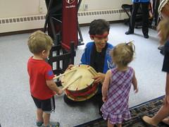 Mu Daiko Drummers (Owatonna Public Library) Tags: owatonna public library childrens services 2016 summer reading program mu daiko drummers