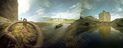The Art of Cycling (wheehamx) Tags: pinhole blend ayrshire px portencross