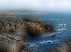2016-07-08 Grouin -Mont st Michel (april-mo) Tags: sea seascape port mer seasideresort blurred brittany bretagne france flouartistique experimentaltechnique filtre