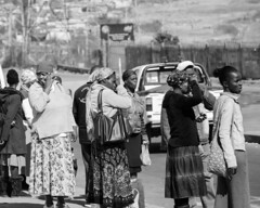 Waiting (MarcCooper_1950) Tags: house signs home poster southafrica mural nelson residence johannesburg 1976 uprising mandela soweto antiaparthied 1976sowetouprisinglumixpanasonicfz1000marc coopermandela