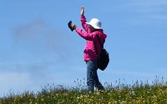 """Berg-Selfie"" 2 / ""Mountain-Selfie"" 2 (krinkel) Tags: mountain alps berg lumix schweiz switzerland panasonic souvenir alpen erinnerung selfie rigi"