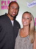 Kendra Wilkinson and husband Hank Baskett Perez Hilton's Mad Hatter Tea Party Birthday Celebration held at Siren Studios Hollywood, California