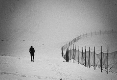 ... (seyed mostafa zamani) Tags: life camera bw white mountain snow abstract man black cold art net nature canon fence way landscape photography eos photo asia alone iran spirit smooth arts picture azerbaijan iso human silence thinking dreams only unknown mysterious fencing iranian concept conceptual sec surrounded 2012 separation tangles        eos450d 450d      natvryalyst
