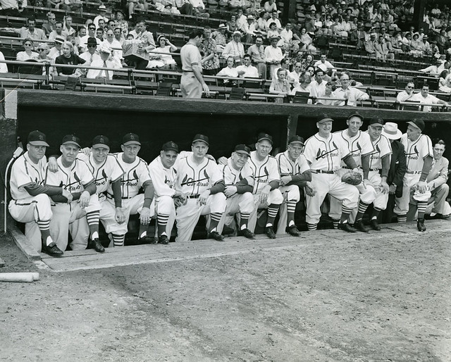 1926 St. Louis Cardinals Reunion, 1951.