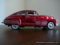 1948 Chevrolet Fleetline side 2 (Diecastauto) Tags: auto 1948 chevrolet scale car model 124 fleetline 118 diecast