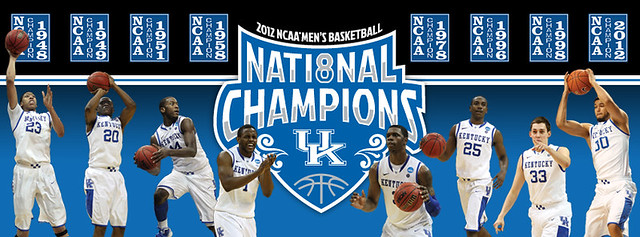 Kentucky Wildcats Win 8th NCAA Title!
