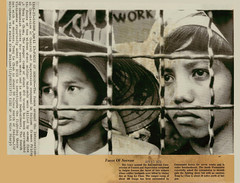 Vietnam War 1973 - Những khuôn mặt buồn