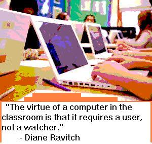 Laptops with Students by EWagner79, on Flickr