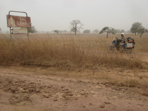 Crossing Border between Gambia & Senegal