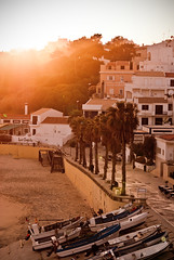 (ghxststories) Tags: sunset holiday beach portugal boats algarve albufeira