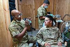 Soldier dentists (The U.S. Army) Tags: afghanistan arian ghazni