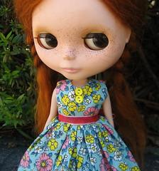 In Full Bloom Dress for Blythe