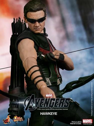 movie actionfigure superhero hawkeye marvel avengers hottoys jeremyrenner 12inchfigures t2a 16scale sixthscale tales2astonischcom