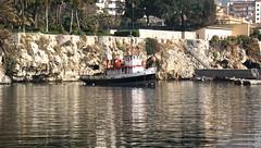 Palermo: Porticciolo dell'Acquasanta (Luciano ROMEO) Tags: panorama mare barche nave sole palermo azzurro riflessi celeste orizzonte porti pescatori acquasanta marinerie