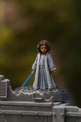 Little Leia (jontlaw) Tags: miniatures gang games workshop escher necromunda hasslefree