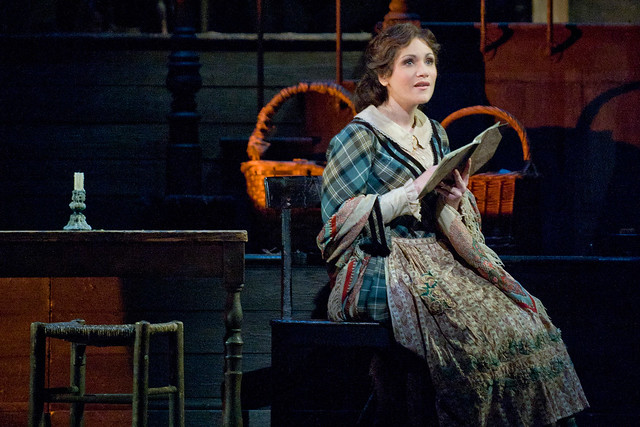 Carmen Giannattasio as Mimì in La bohème © Mike Hoban/ROH 2012