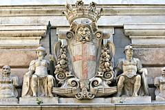 Stemma del Comune di Genova (Palazzo Doria-Tursi) (Matteo Bimonte) Tags: genoa genova palazzo comune doriatursi