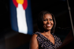 Michelle Obama in Pueblo - June 20 (Barack Obama) Tags: colorado pueblo flotus michelleobama grassrootsevent