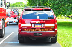 Flourtown Fire Company Chief 6 (Triborough) Tags: chevrolet gm pennsylvania chief tahoe firetruck pa fireengine firechief fortwashington ffc montgomerycounty chiefscar flourtownfirecompany