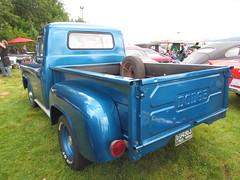 Dodge D-100 pickup (bballchico) Tags: truck pickup dodge d100 carshow hotrods 1959 2012 kustomkulturefestival dangallups