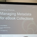 Managing Metadata for eBook Collections