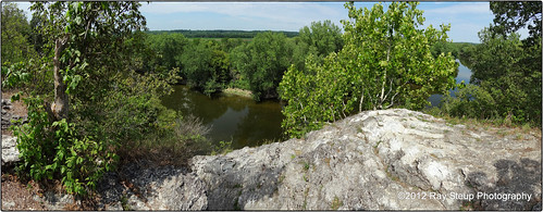 The view from Hanging Rock - Wabash County Indiana