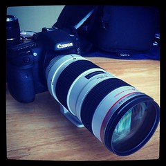 Ready for #meetRay #FIA12 #canon #7D