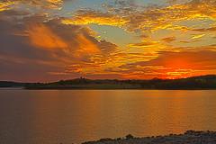 Sunset Apocalypta (Kansas Poetry (Patrick)) Tags: sunset lawrencekansas clintonlake patrickemerson patricknancylaughatnight