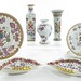 2029. (8) Pieces of Samson Armorial China