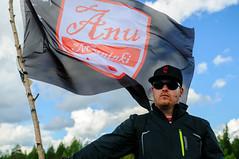 Anu Meininki suopotkupallon MM-kisoissa 2012 (heikkipekka) Tags: finland football soccer swamp anu jalkapallo suo swampsoccer hyrynsalmi suopotkupallo anumeininki vuorisuo