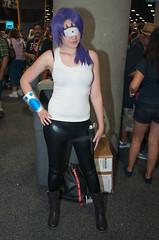Leela (SBGrad) Tags: costume nikon sandiego cosplay futurama cosplayer nikkor comiccon leela 2012 sdcc alr d90 24mmf28d turangaleela sb700