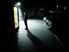 machine (sparth) Tags: shadow cars night child nightshot machine minimal redmond vendingmachine minimalism iv ricoh vending 2011 grd grd4 ricohgrdiv grdiv rricohgrd