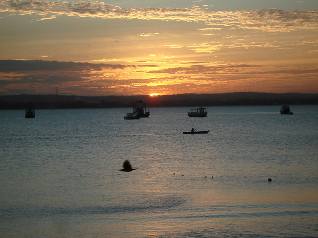 Sunset at the Slipway