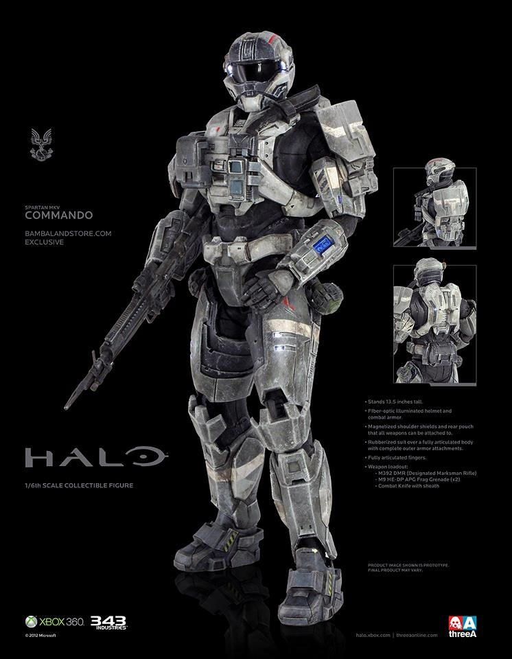 threeA-HALO:SPARTAN MKV Commando