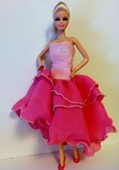 My pink Eaki dress from ebay (pattidolls) Tags: pink dress my eaki