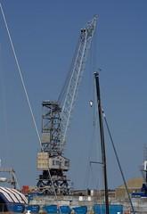 Shipyard Crane, Falmouth UK (Dovedale Derby) Tags: crane shipyard falmouth dockyard